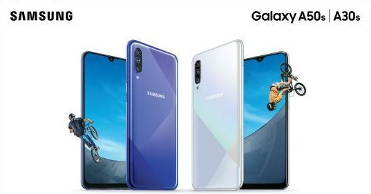 Samsung Galaxy A50s and A30s with triple rear-camera launched in India