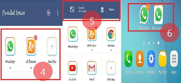 एक एंड्राइड फ़ोन में डबल व्हाट्स एप्प कैसे चलाये (how to use two whatsapp in one android phone)