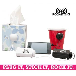 hi turn any surface into a speaker with origaudio rock it 3 0
