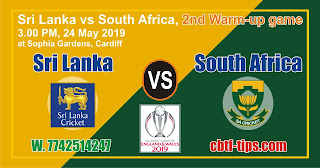 South Africa vs Sri Lanka Warm Up WC 2019 Today Match Prediction WORLD CUP 2019