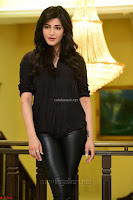 Shruti Haasan Looks Stunning trendy cool in Black relaxed Shirt and Tight Leather Pants ~ .com Exclusive Pics 022.jpg