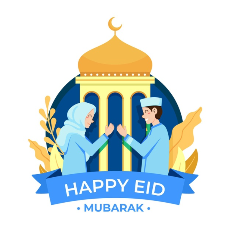 10 Template Kartu Ucapan Hari Raya Lebaran Idul Fitri
