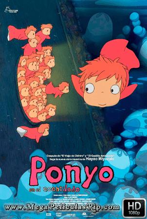 Ponyo Y El Secreto De La Sirenita 1080p Latino