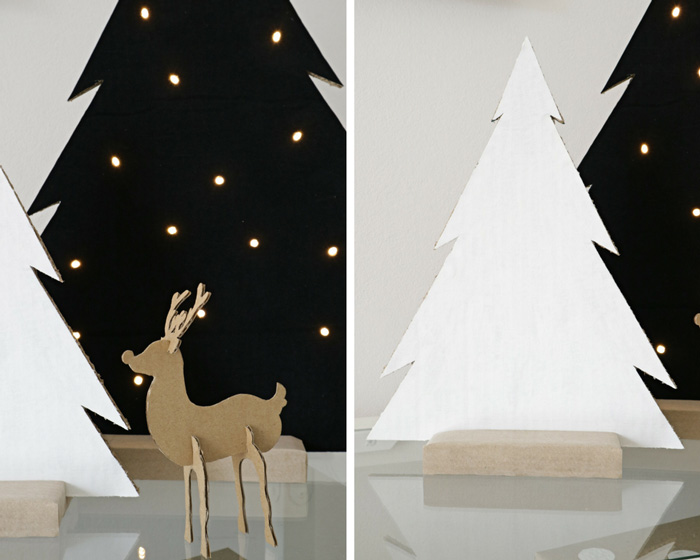 DIY Minimal Christmas Decorations