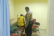 Jadi Korban Curas, Nurhadi Anggota Linmas RW. 03 Tanser Terkapar dengan Luka Robek di Punggung