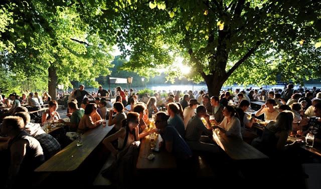 Biergarten do Englischer Garten