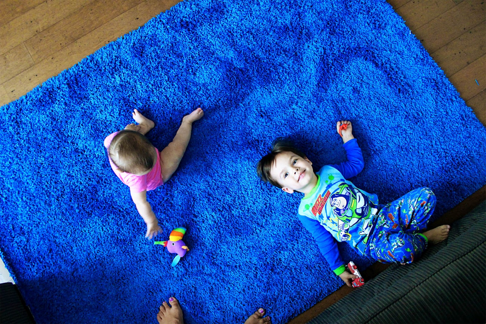 Bright Rugs Bright Blue Rug