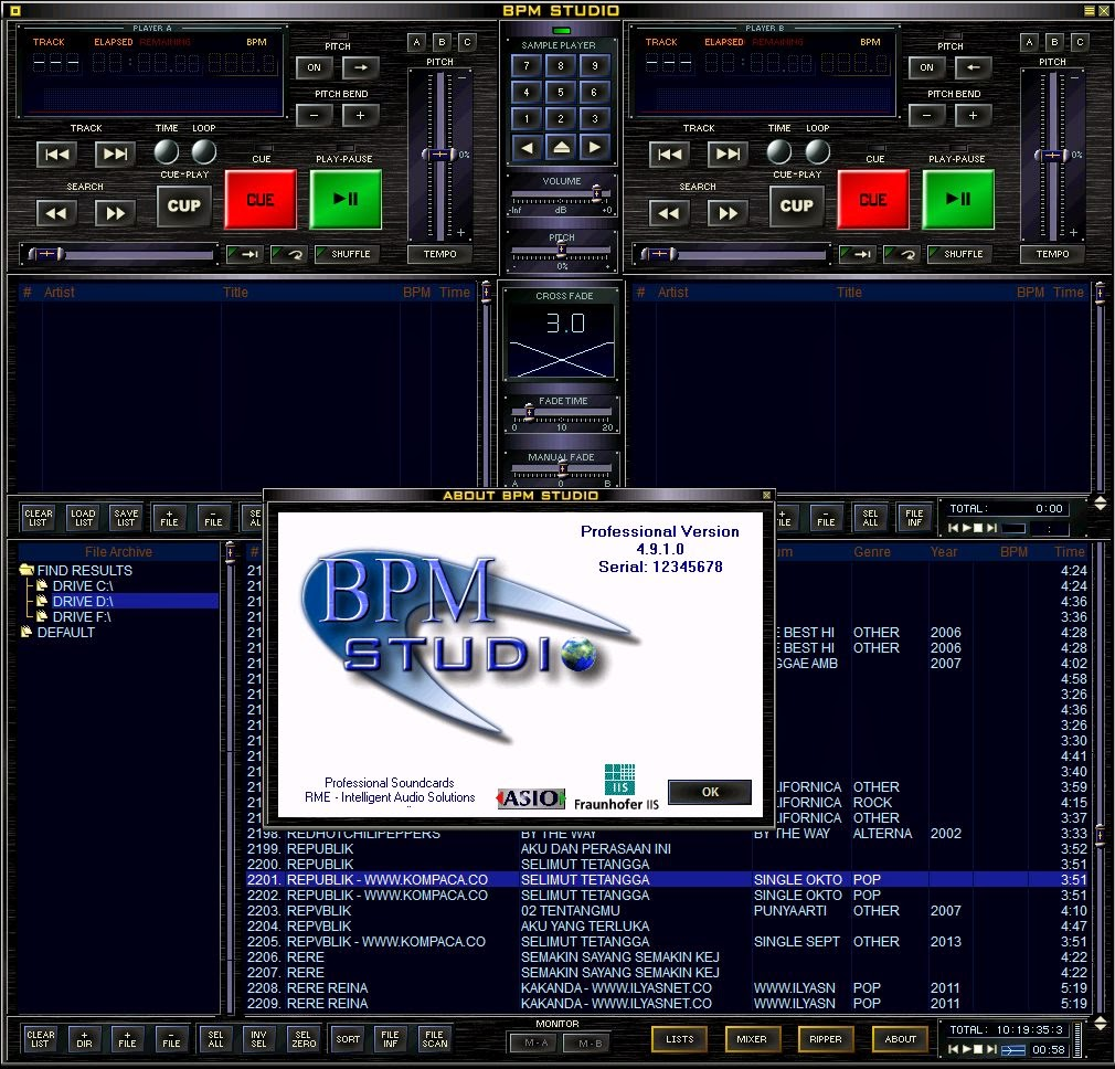 Bpm studio download.
