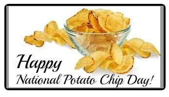 National Potato Chip Day Wishes Beautiful Image