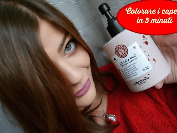 Colorare i capelli in modo naturale ed in 5 minuti