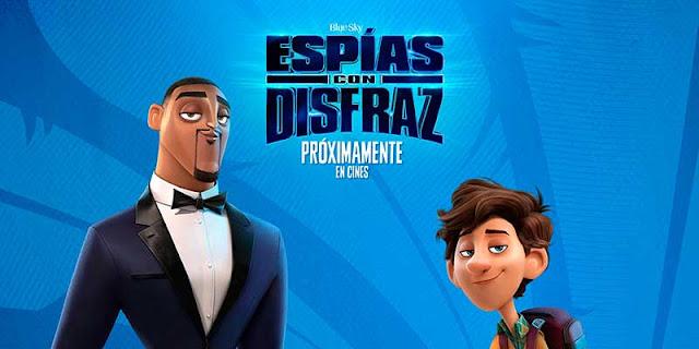 'Espías con Disfraz, la película de animación sobre el mundo de los espías, presenta su nuevo tráiler