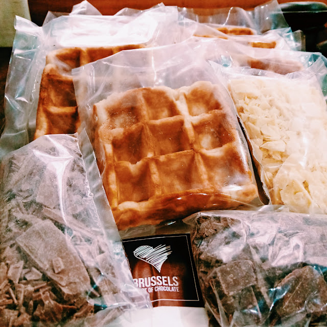 Caja Waffles Brussels
