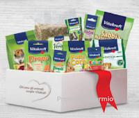 Vinci gratis pacchi regalo con prodotti Vitakraft per il tuo roditore