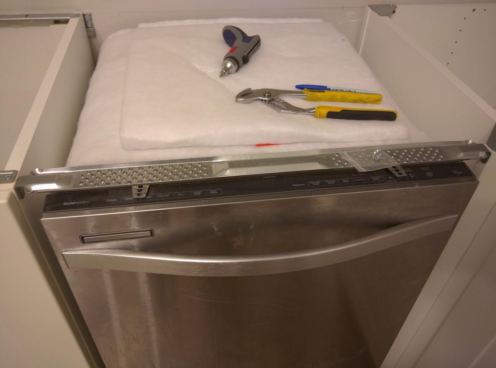 Dishwasher Countertop Bracket : Dishwasher Bracket ( Amazon )