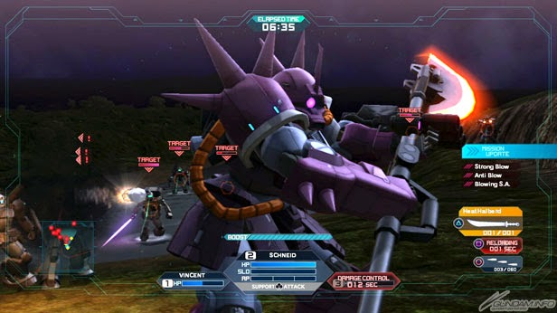 Mobile Suit Gundam Side Stories (Gaiden): Lost War Chronicles [Remake] Trailer + Screenshots