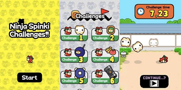 Ninja Spinki Challenges