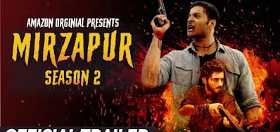 Mirzapur season 2 Download HD quality khatrimaza Hindi 720