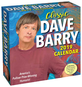Classic Dave Barry 2019 Day-to-Day Calendar