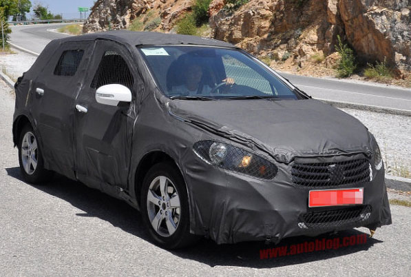 Suzuki,SX4,turbo,spy photo