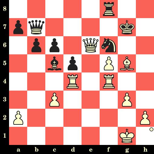 Les Blancs jouent et matent en 4 coups - Akiba Rubinstein vs Rudolf Spielmann, Prague, 1908