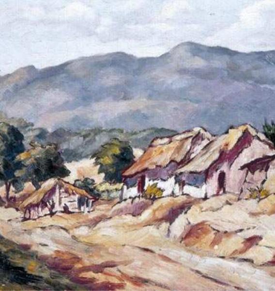 Paisaje del Cibao (detalle), 1940