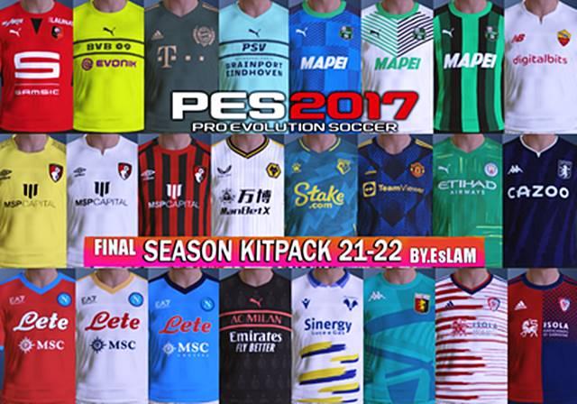 PES 2017 FINAL Kitpack New Season 2021/2022