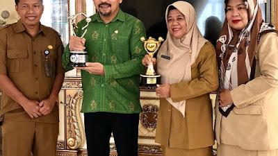 Pemkab Dompu Terima Penghargaan APE Tingkat Utama