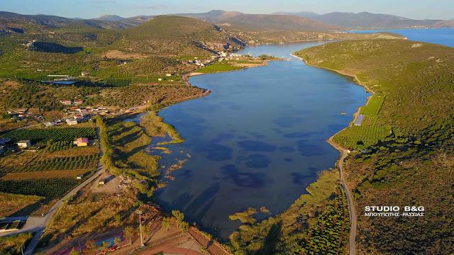 Διακήρυξη για την Εκμίσθωση εκμετάλλευσης της λιμνοθάλασσας «Βιβαρίου» στην Αργολίδα