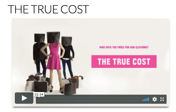 The True Cost, en dokumentar om fast fashion og etisk mote.  Foto: skjermdump fra The True Cost.