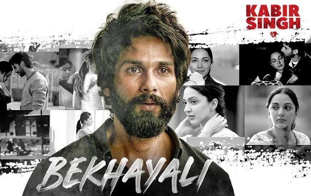 BEKHAYALI from kabir singh movie
