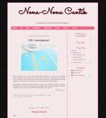 About Nona-Nona Cantik