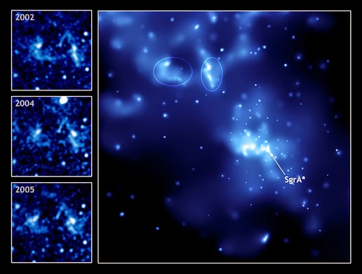 Image of the Milky Way's supermassive black hole called Sgr A *