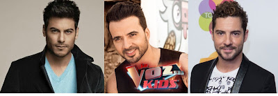 David Bisbal, Luis Fonsi o Carlos Rivera  La Voz Kids