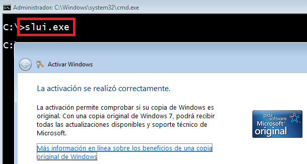 Windows: Saber si esta activado