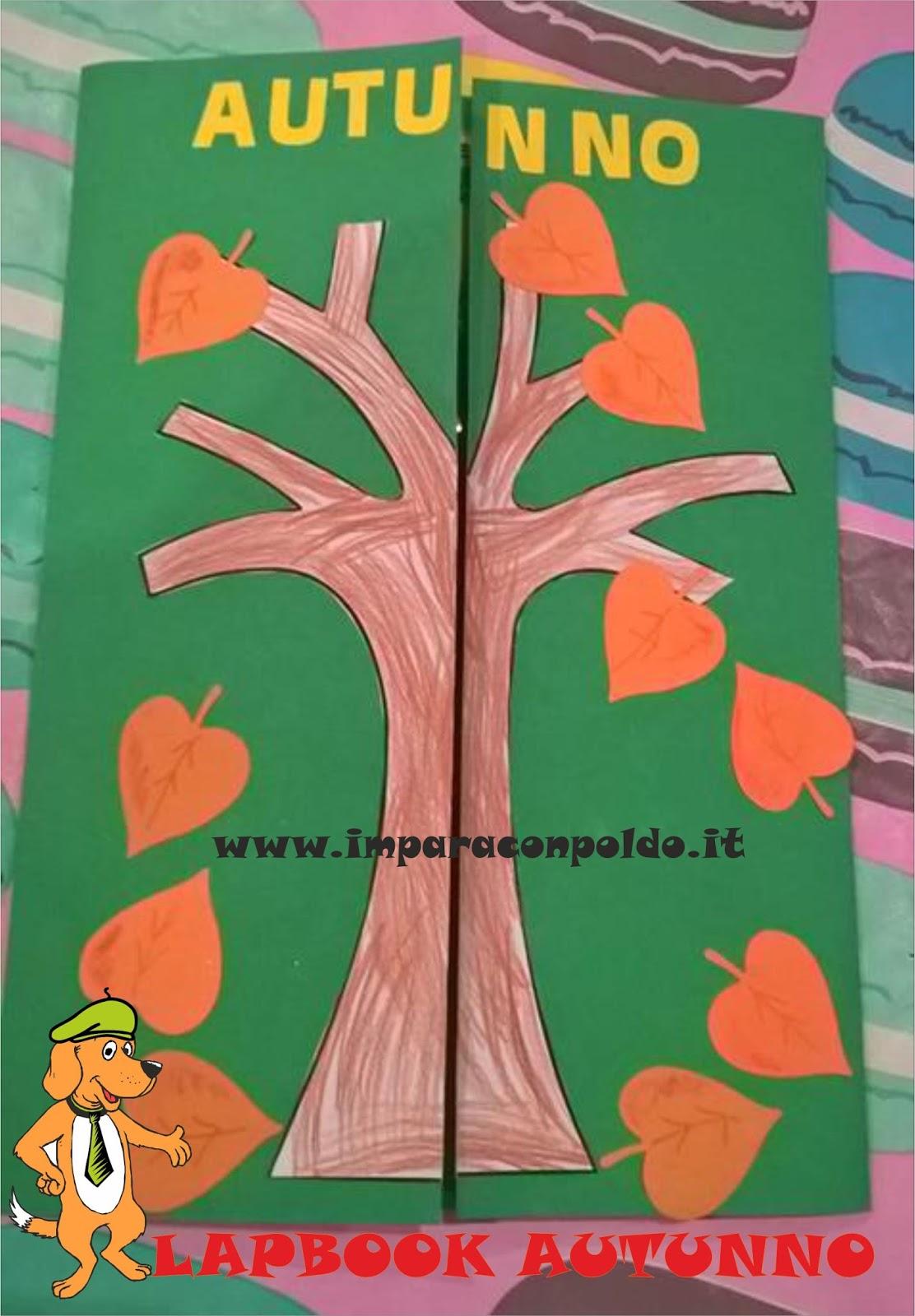 lapbook autunno da