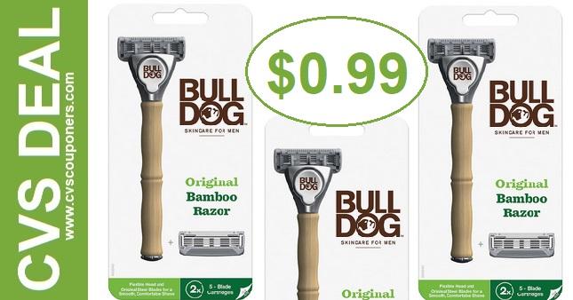 Bargain on Bulldogs Razors at CVS