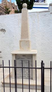 Μνημείο πεσόντων στο Κουρουνοχώρι της Νάξου