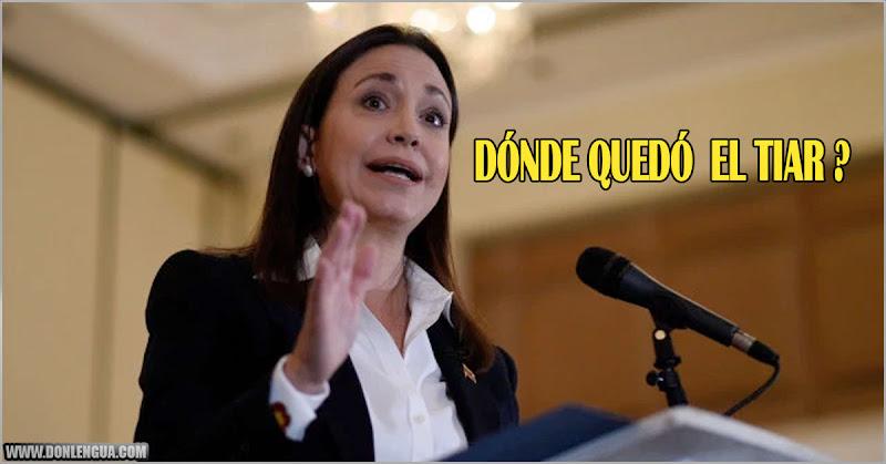 María Corina Machado pregunta por el TIAR que fue prometido hace 3 años