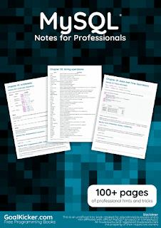 MySQL Notes for Professionals PDF