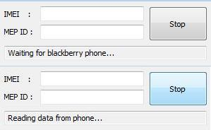 Blackberry MEP Reader
