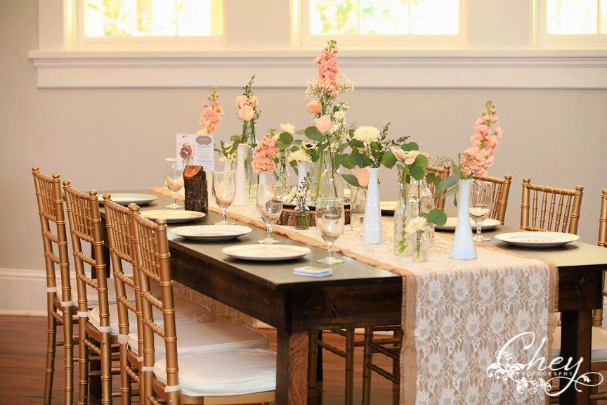 The Funky Shack Flower Market Farm Table Rentals For