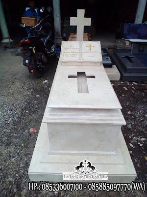 Kijing Makam Kristen, Kijing Kuburan Kristen, Model Kuburan Minimalis