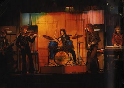 Mushroom (Santa Sabina's School Concert Hall - left to right: Alan, Pat, Colm, Aonghus and Michael)