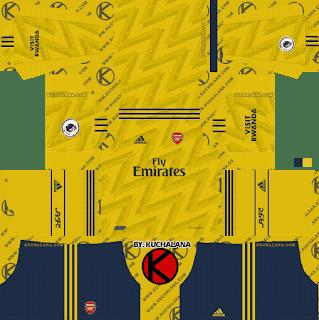 the latest 14fdb f957c Arsenal 2020 Kits
