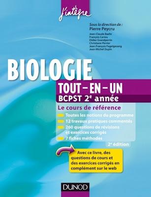 Livre Biologie tout-en-un BCPST 2e année PDF