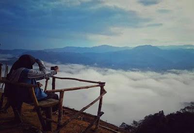 Paradoksal Negeri atas awan Gunung Luhur,  Citorek-Lebak Banten.