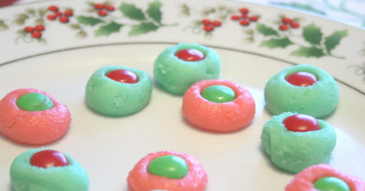 Candied Christmas Mints