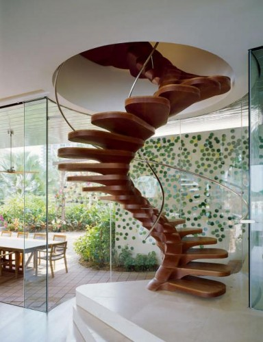 Le top 10 des escaliers design en colimaon et hlicoidaux  Le blog de Loftboutik