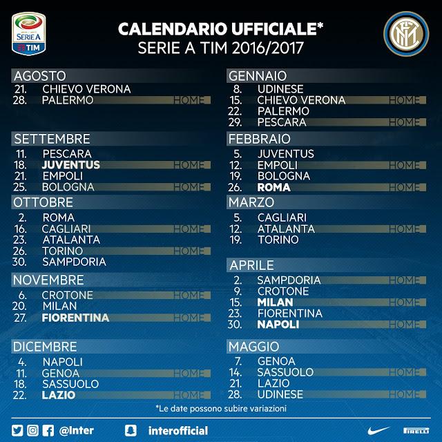 Jadwal Inter Milan