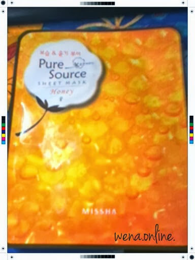 Missha Pure Source Sheet Mask in Honey (1 pack)